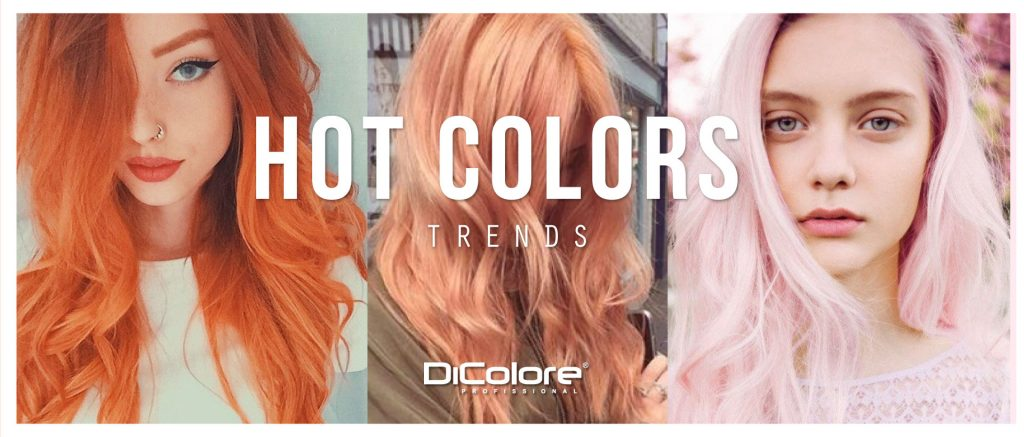 HOT COLORS TRENDS