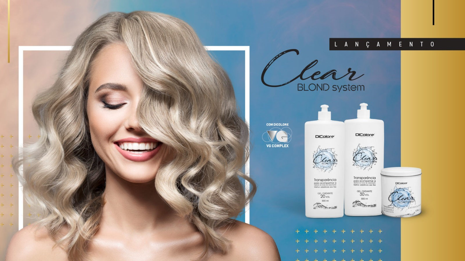 dicolore clear blond system